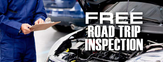 Free Road Trip Inspection