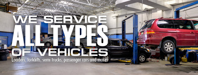 Service All Types of Vehicles