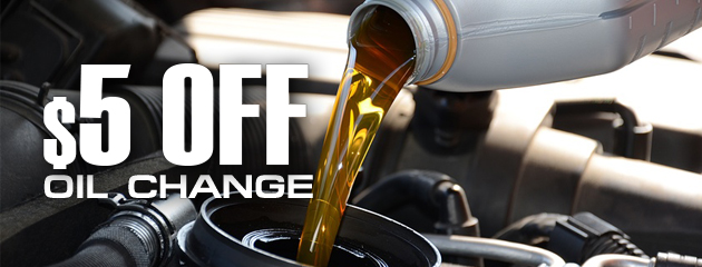 $5 off Oil Change (Full Service Only)
