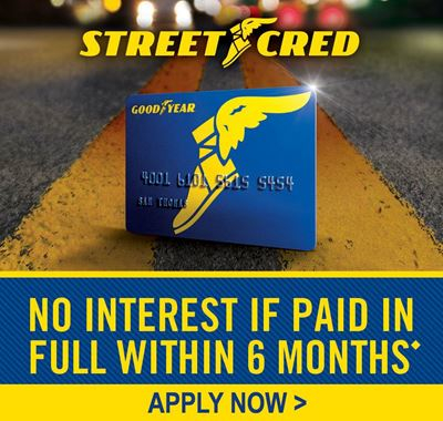 Goodyear Financing Available at Ride-Wright Tire in Elizabethtown, KY 42701